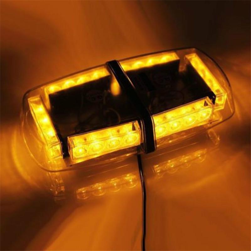 LED Mini Lightbar Strobe Beacon/Warning Light/Emergency Lightbar Light/Ambulance Lightbar/Amber Lightbar with High Duty Magnetic(China (Mainland))
