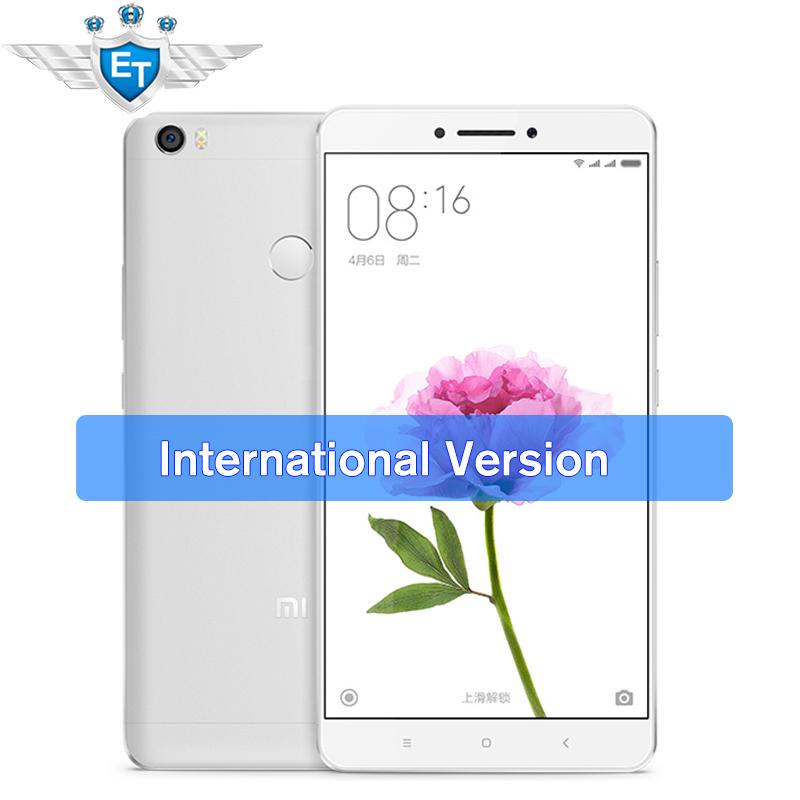 "[International Edition] Xiaomi Mi Max 6.44"" Android Cell Phone Snapdragon 650 Hexa Core 4850mAh 16.0MP 3GB/32GB Fingerprint(China (Mainland))"