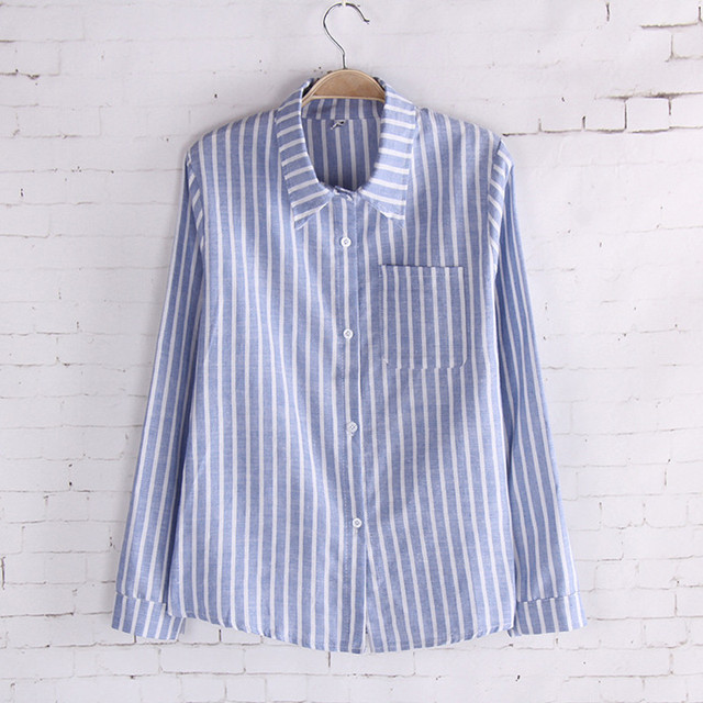 blue and white stripped shirt | Gommap Blog