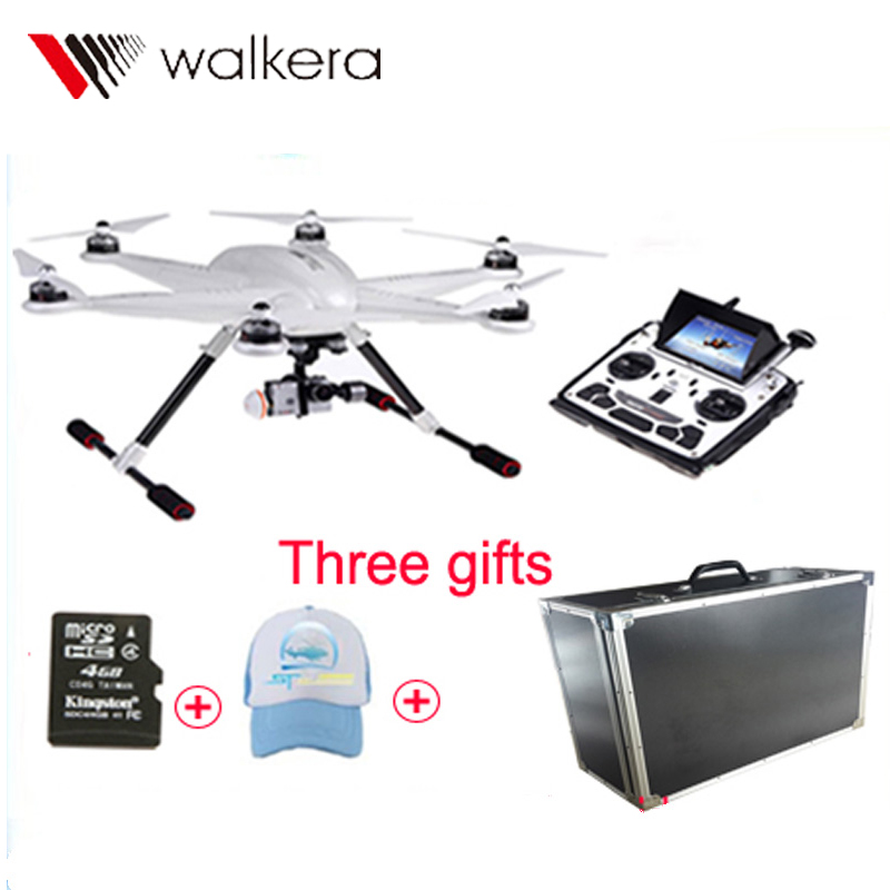 2016 Walkera TALI H500 RTF FPV Hexacopter GPS Drone with Ilook Plus Camera DEVO F12E G-3D Gimbal Imax B6 Charge Gift for SJCAM(China (Mainland))
