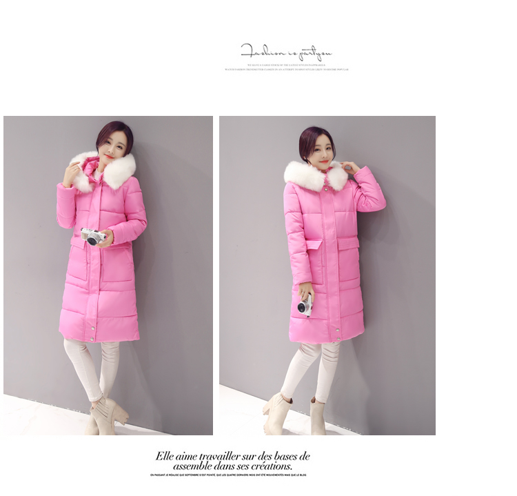 New Women Down Jacket Ukraine Sale Polyester Solid Zipper Slim Thick Full M-3xl High-end Fashion Collars Coat Free Shipping