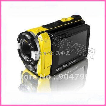 free shipping Professional Waterproof camera digital with 16mp and 3.0 inch tft screen High definition