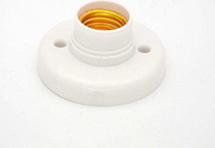 Lamp Socket Base E27 3W-40W 220V 230V power switch button Lamp Holder Converter Bulb lighting 5W 7W 9W 12W 15W 18W 24W