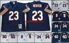 Throwback stitched Chicago Bears Mitchell & Ness #,Jim McMahon,William Perry,Walter Payton,Gale Sayers,Singletary Hester(China (Mainland))