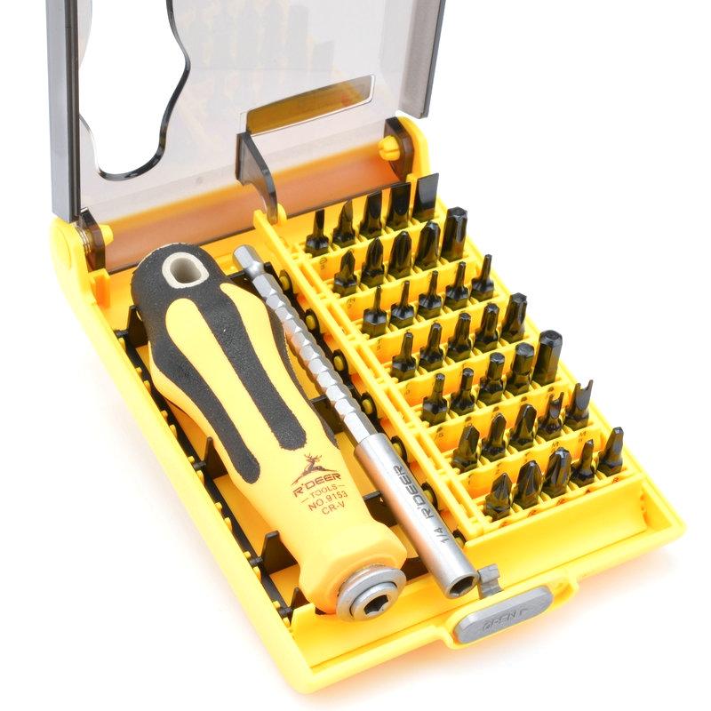 Flying deer 37 in 1 Retractable Screwdriver set combination screwdriver set screwdriver set screwdriver 9153