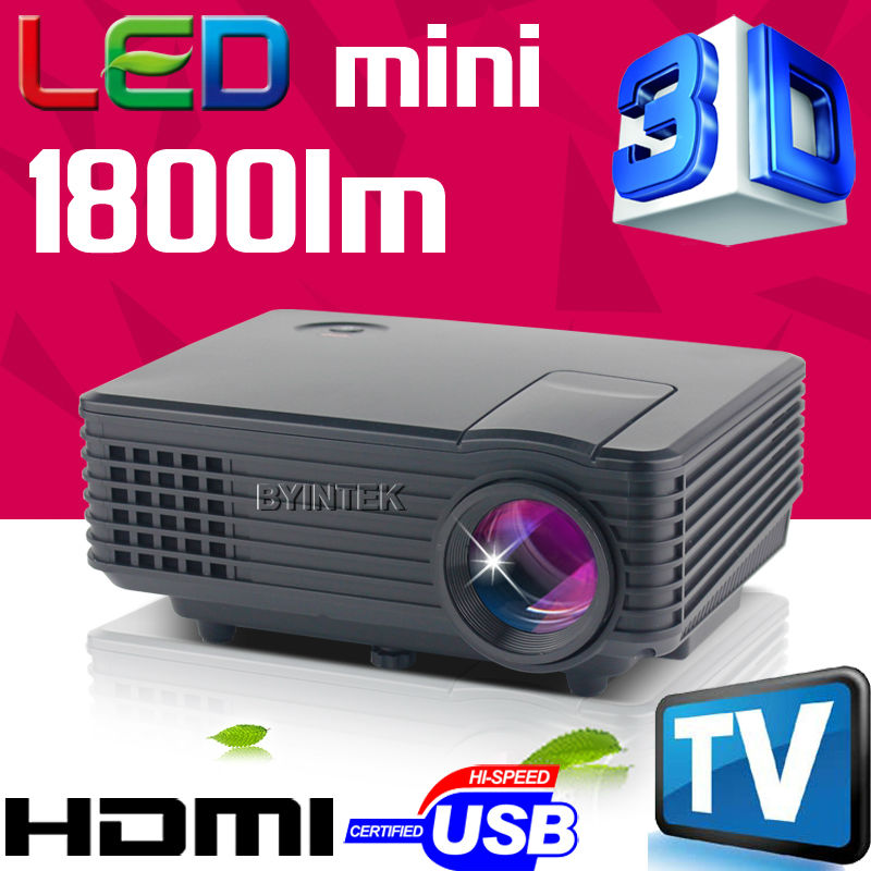 2015 best brand byintek mini projector BT905 Home Theater Video LCD Tv 1800lumens cinema piCO HDMI Portable fULi hD 1080P LED 3D(China (Mainland))