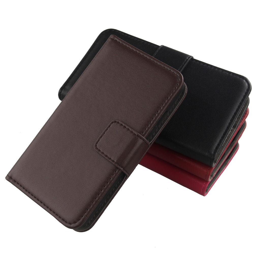 ABCTen Luxury Wallet Style Bag Genuine Leather Cell Phone Flip Case For Uhappy Up520 MTK6582 Up580 V5(China (Mainland))