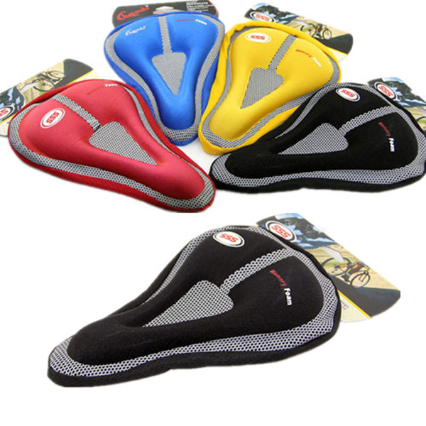 Stationary Bike Gel Seat Covers