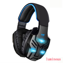Luminous headset Gaming Headset Stereo Headphones Earphones with Microphone for Computer Laptop Skype Mobile Phone High Quality