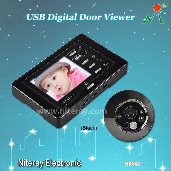 Здесь можно купить  New Video Door Recorder Wide Angle Peephole Door Eye Hole Camera Home Security Doorbell  Аппаратные средства