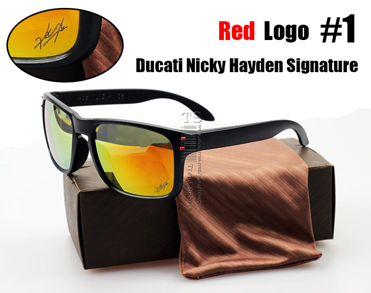 2015 VR46 Julian Wilson MotoGP Signature Holbrook Sunglasses Fashion Trend Sun Glasses Cycling Sports Holbrook Oculos