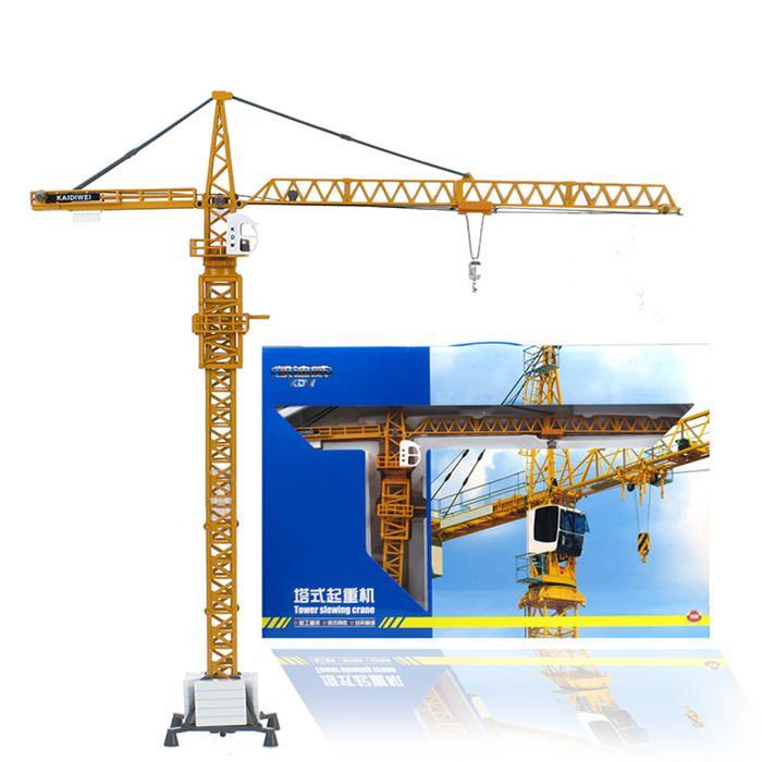 kids toys for children kaidiwei 1:50 scale model car diecast car model blaze car toy Tower crane 625017(China (Mainland))