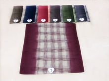new Paris yarn all-match tartan design Comfortable fashionable ladies scarf Ms Muslim headscarves Independent packing