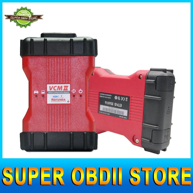 2015 Newest V95 VCM 2 IDS For Mazda/Ford 1996-2014 Years VCM II OBD2 Scanner VCM II IDS Diagnostic Tool With Strong Plastic Box(China (Mainland))