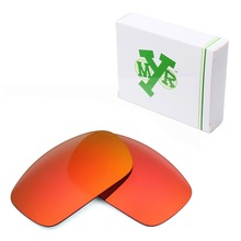 MRY POLARIZED Replacement Lenses for Oakley X Squared Sunglasses Fire Red