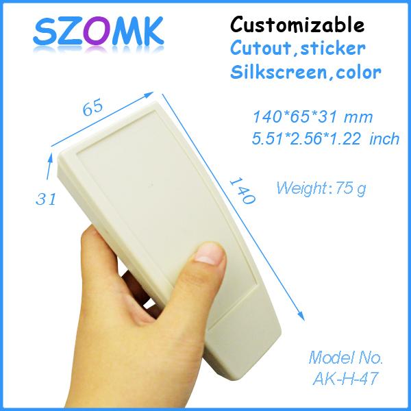 plastic enclosure box switch box (10 pcs) 140*65*31mm szomk electronics 2014 new plastic case instrument enclosure<br><br>Aliexpress