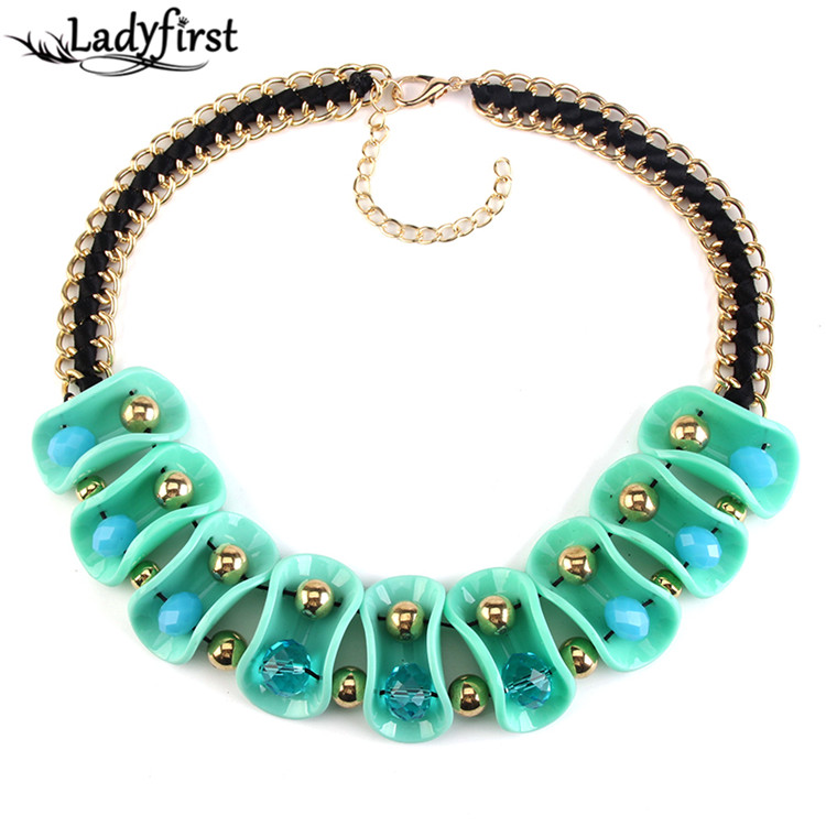 Aliexpress.com  Buy 2016 New Arrival Big Brand Maxi Vintage Acrylic Flower Unique Necklaces Pendants Costume Statement Collares Choker Jewelry 2839 from