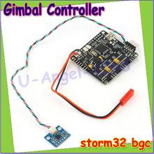 Wholesale 1pcs Storm32 BGC 32Bit 3-Axis Brushless Gimbal Controller V1.31 DRV8313 Motor Driver Drop free shipping(China (Mainland))