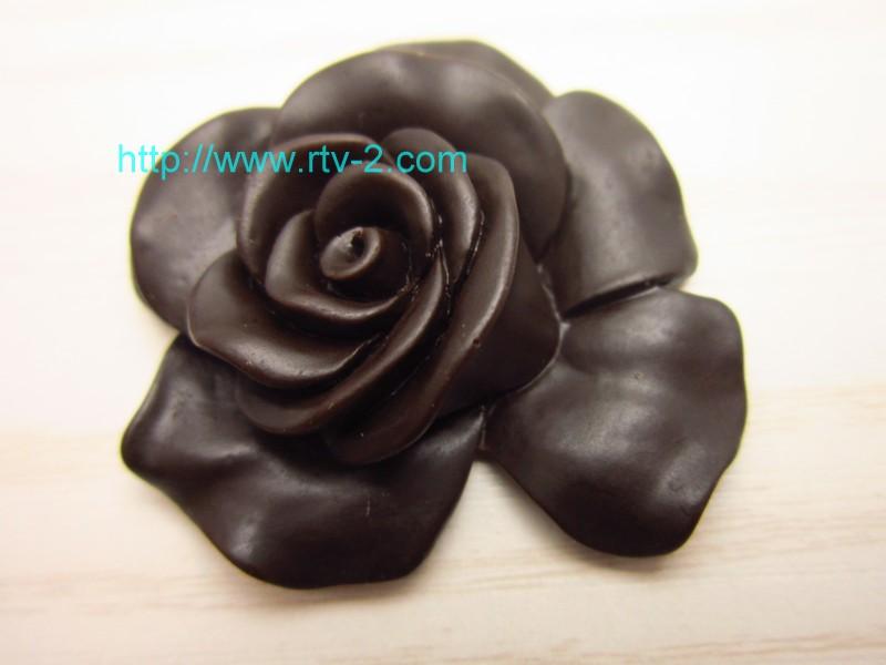 Rose cake decoration silicone chocolate Flower Plant Silicone Mold Food grade silicone mold(China (Mainland))