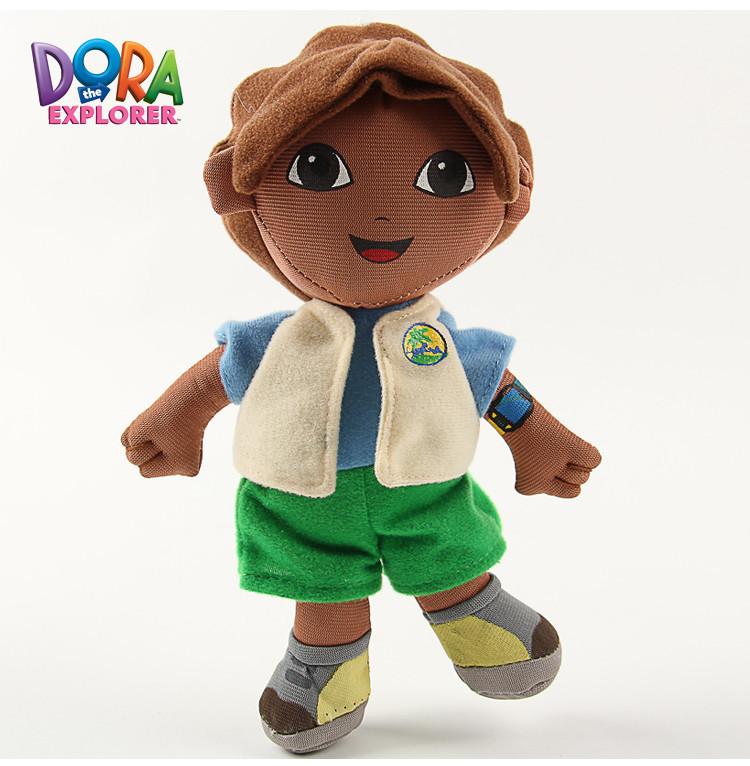 "8"" Dora the Explorer Go Diego Go Plush Dolls Toy Retail Dora Brinquedos Best Gift For Children High Quality Stuffered PlushToy(China (Mainland))"