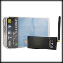 by dhl or ems 100pcs android 4.4.2 quad core mini pc bluetooth 4.0 RK3188 2G RAM 8G FLASH tv stick(China (Mainland))