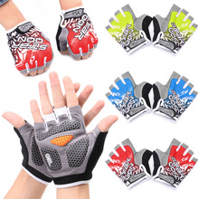 Buy GEL Cycling Gloves Bike sport Gloves Bicycle Half Finger Gloves shockproof for $3.71 in AliExpress store