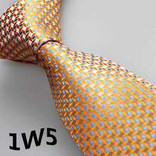 2015 Latest Stylet Men Dress Tie Brassy Yellow/Pearl White/Indigo Geometric Design/Shirt Mens Accessories/Man Gift/Wedding Dress