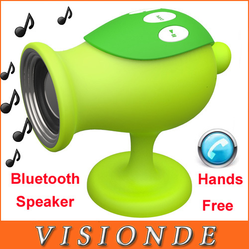 2014 New Plants Vs Zombies Mini Portable Bluetooth 2.1 Stereo Speakers For Computer Pea Card Hands Free Speaker With FM Radio<br><br>Aliexpress