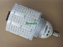 60w led street light 100-240v Bridgelux chips 110-120LM/W street lights E40(China (Mainland))