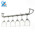 Barware Wine Rack Glass Cup Holder Stainless Steel Under Cabinet Stemware Shelf Holder Hanger Wine Stemware
