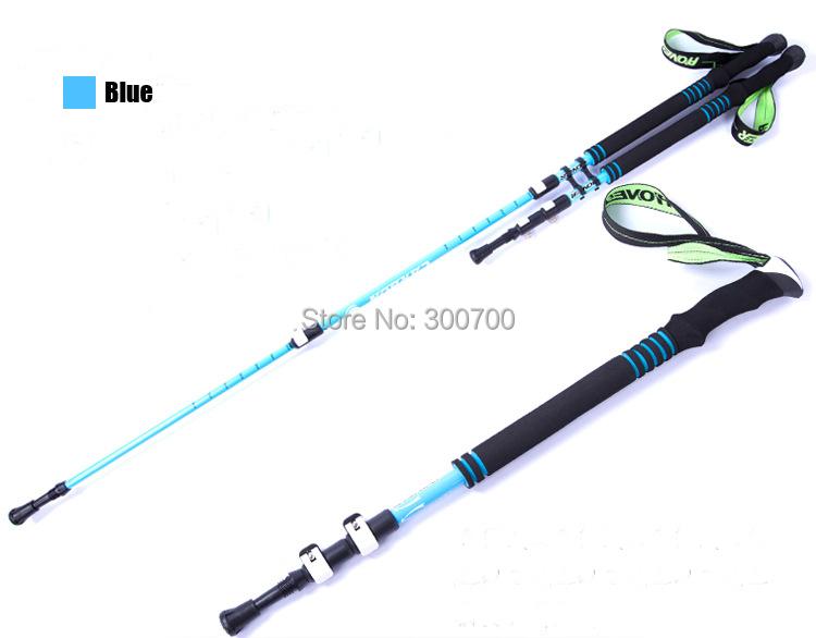 High Rigidity High Temperature Resistant Light Weight Wear-resisting Carbon Fiber Alpenstock Walking Stick & Walking Cane