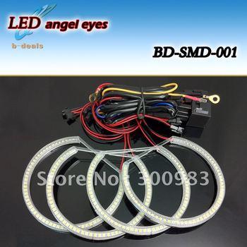 LED SMD Angel Eyes forBMW E36/E38/E39/E46 PROJECT with Fade on/out