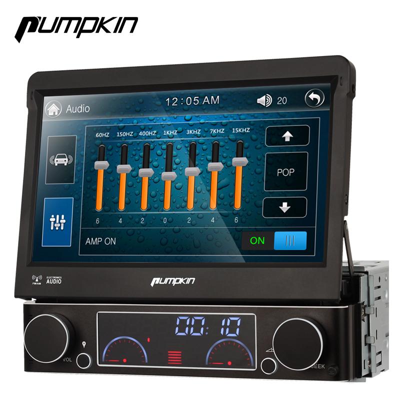 "Universal 1Din 7"" Detachable Car Audio DVD Player GPS Navigation Stereo Car Central Multimedia RadioBluetooth DVR WCDMA(China (Mainland))"