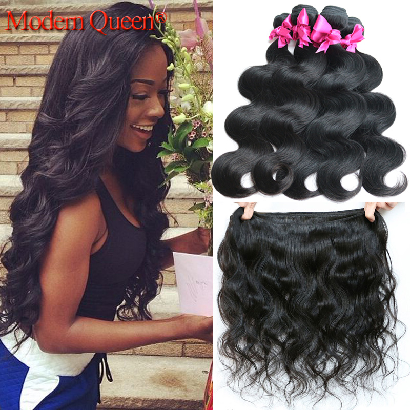 Brazilian body wave human hair extensions virgin Brazilian hair weaves natural black 3pcs lot Brazilian hair 100g/pc 8-28inch