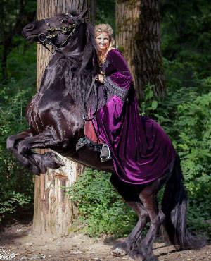 Horse-Riding-Habits-Velvet-Gown-VictorainChoice