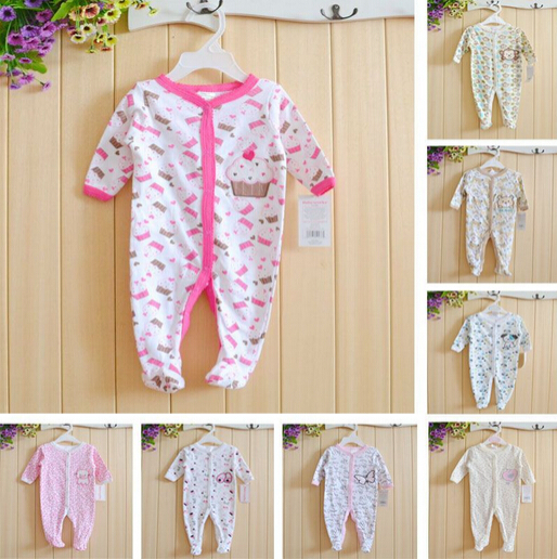 One piece Spring Autumn Baby Clothes Romper Other Brand &Carter Cotton Long Sleeve Romper Animal Newborn Overalls For boys girls(China (Mainland))