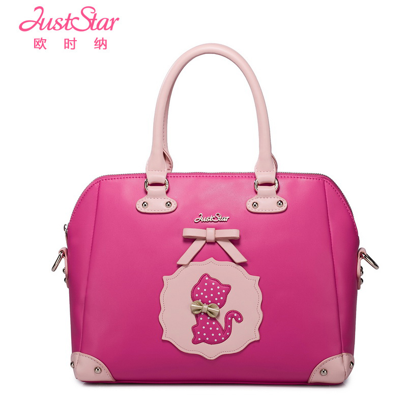 Women's Handbag 2014 Young Girl Bag Red Messenger - Brand handbags net store