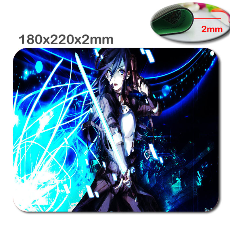 Sword Art Online Asada Shino Create Your Own Style Amazing Mouse Pad Computer Notebook Pretty Good Customized Anime Mouse Mat(China (Mainland))
