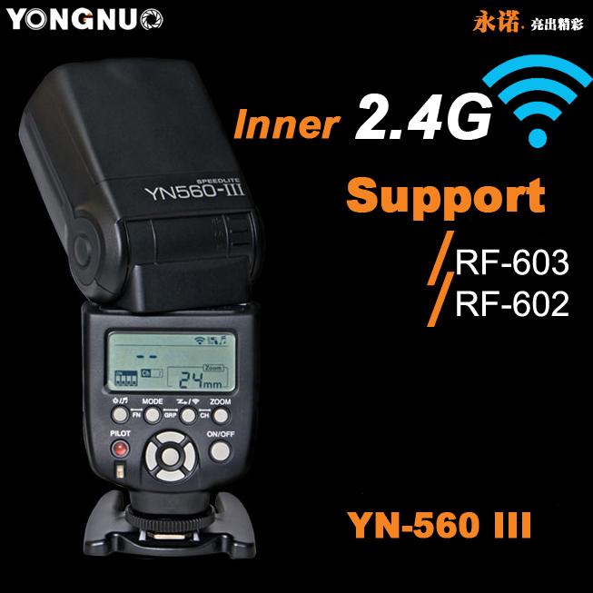 YongNou YN-560III YN560III Camera Flash Speedlight Universal flash