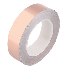 Hot 1 Roll Single-side Conductive Copper Foil Tape Electronic Adhesive 4CM*30M Wholesale(China (Mainland))