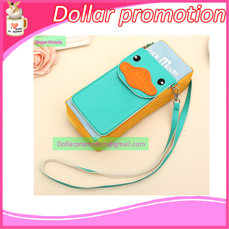 DHL MIX COLOR Duck  pencil case  fashion unisex hang multifunction Cosmetic Bags Causal Portable Travel Waterproof pencil case<br><br>Aliexpress