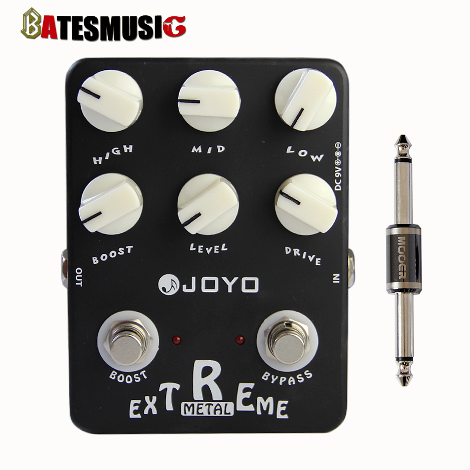 JOYO Guitar Effect Pedal Sound Box Extreme Metal (Amplifier Simulator) -JF-17+MOOER PC-S pedal connector