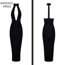Buy 2017 BANDAGE DRESS Elegant Ladies Summer Dress Work Wear Sleeveless V-Neck Front Open Women Sexy Party Bandage Dress HL J417 for $29.40 in AliExpress store