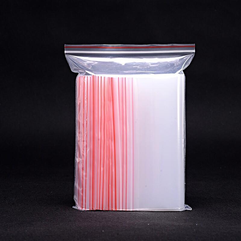 17cm*25cm Transparent Plastic Ziplock Packaging Bags Zipper Top Poly Packing Bags wholesale(China (Mainland))