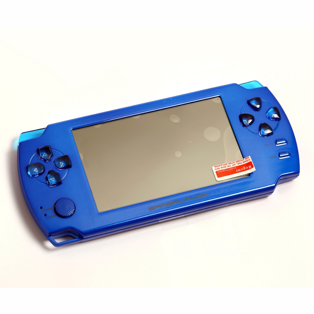 """Upgraded 4.3"""" Touch Screen Ultra-thin 32Bit Handheld Games Consoles 3D Game Player 8GB HDMI Output PMP(China (Mainland))"""