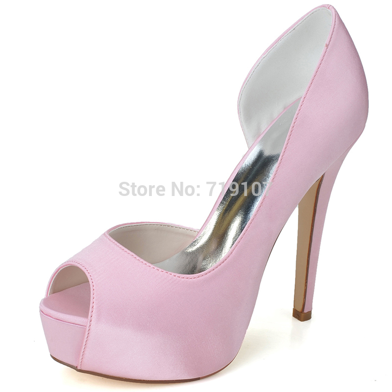 10 colors size 32 41 high heels wedding shoes open