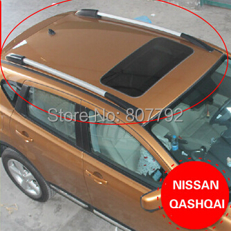 Aluminium Alloy Car Top Roof Rack Pair for Cargo Luggage For Qashqai(China (Mainland))