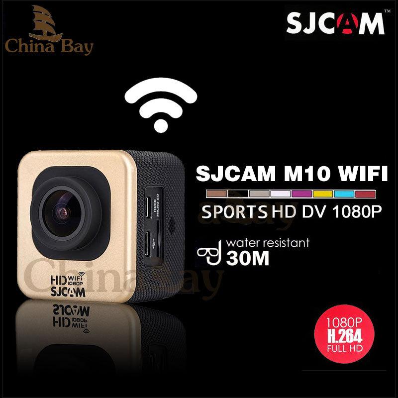 Original SJCAM M10 WIFI Mini Sports HD Camera Novatek 12MP 1080P 170 Lens 1.5'' HD Waterproof Camera Camcorder Car DVR for Gopro