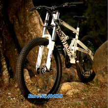 21/24/27 Speed, Aluminum Alloy, Soft Tail Mountain Bike, Cable/Oil Disc Brake, Suspension Bike. DH(China (Mainland))