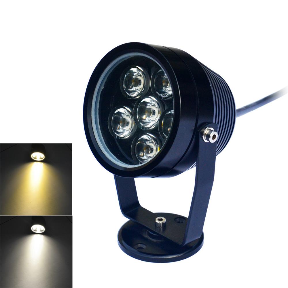 JWF  6W 6-LED 480lm 6500K/3200K Cool white/Warm White Light Underwater Lights (DC 12V) <br><br>Aliexpress